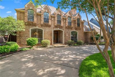 Plano Single Family Home Active Option Contract: 4593 Adrian Way