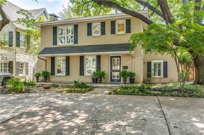 Allen, Dallas, Frisco, Plano, Prosper, Addison, Coppell, Highland Park, University Park, Southlake, Colleyville, Grapevine Single Family Home For Sale: 4053 Hanover Avenue
