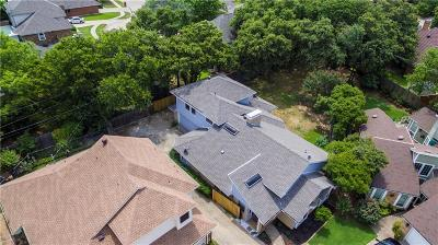 Irving Single Family Home Active Option Contract: 1500 High Crest Court