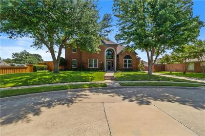 Carrollton Single Family Home Active Contingent: 2216 Grand Canyon Court