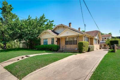 Dallas Single Family Home For Sale: 1925 Prairie