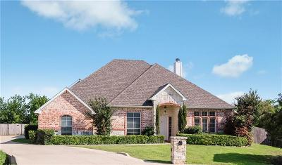 Fort Worth Single Family Home Active Kick Out: 9717 Corral Drive