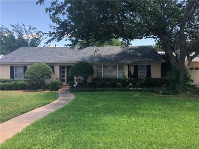 Richland Hills Single Family Home For Sale: 6972 Glen Hills