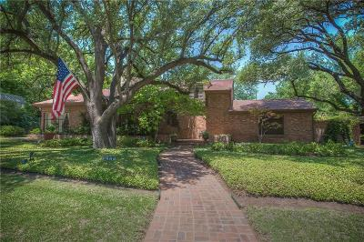 Fort Worth Single Family Home For Sale: 6112 Curzon Avenue