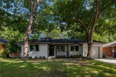 Dallas Single Family Home For Sale: 10226 Eastwood Drive