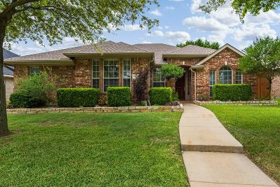 Frisco Single Family Home Active Option Contract: 7305 Stone Hearth Drive