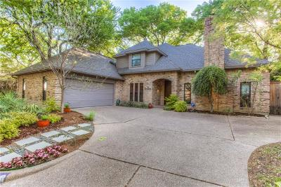Fort Worth Single Family Home For Sale: 4709 Oak Trail