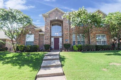 Coppell Single Family Home Active Option Contract: 435 Rockcrest Drive