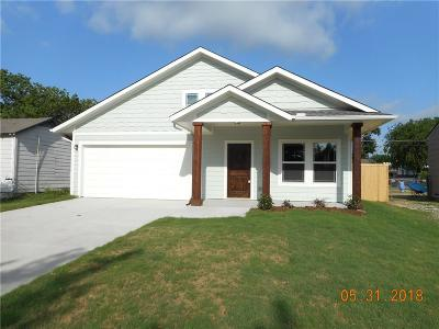 Garland TX Single Family Home Active Contingent: $155,000