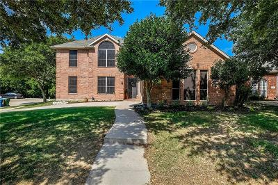 The Colony Single Family Home Active Option Contract: 5996 Sandhill Circle