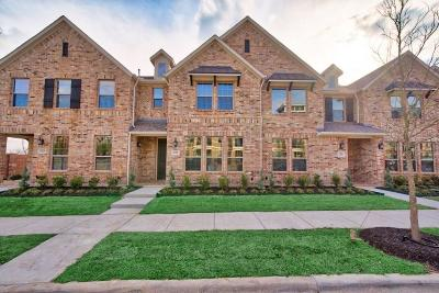 Farmers Branch Townhouse For Sale: 1581 Windermere Way