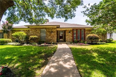 Richardson Single Family Home Active Option Contract: 1310 Mackie Drive