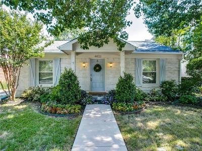Single Family Home For Sale: 4433 Hyer Street