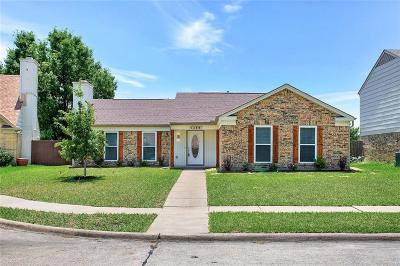 Garland Single Family Home Active Contingent: 1138 Sicily Drive