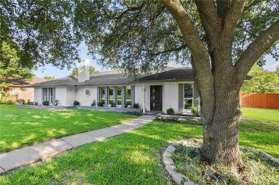 Plano Single Family Home Active Option Contract: 2716 Northcrest Drive