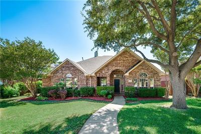 Plano Single Family Home Active Option Contract: 8012 Greenwood Drive