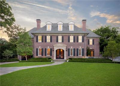 Dallas Single Family Home For Sale: 6331 Deloache Avenue