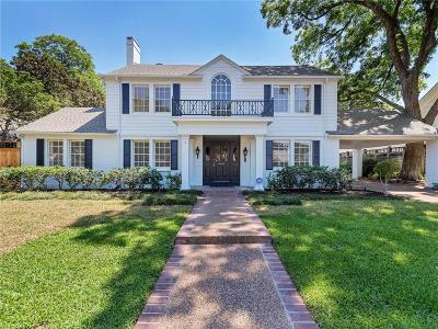 Fort Worth Single Family Home For Sale: 4051 Modlin Avenue