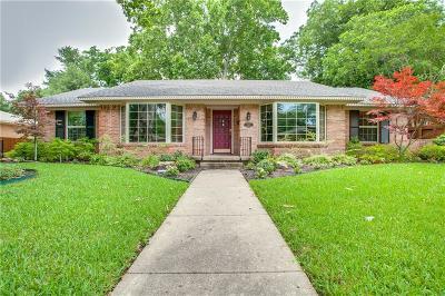 Garland Single Family Home Active Option Contract: 1805 Robin Lane