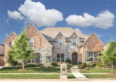 Frisco Single Family Home Active Contingent: 4255 Forest Park Lane