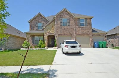 Aubrey Single Family Home For Sale: 1617 Settlement Way