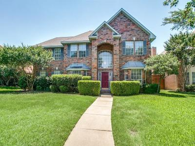 Plano Single Family Home Active Option Contract: 4412 Saber Court