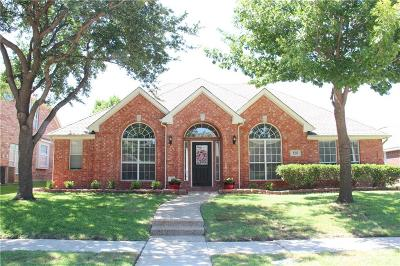 Plano Single Family Home Active Option Contract: 4312 Hawkhurst Drive