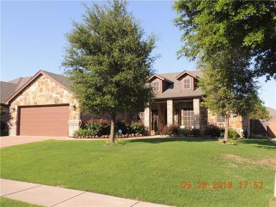 Benbrook Single Family Home Active Option Contract: 7513 Heights View Drive