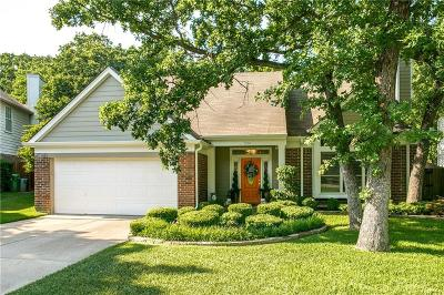 Grapevine Single Family Home Active Contingent: 530 Blair Meadow Drive