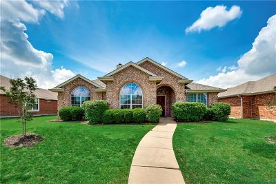 Allen Single Family Home Active Option Contract: 1522 Pebblestone Court