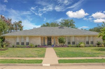 Plano TX Single Family Home Active Option Contract: $385,500