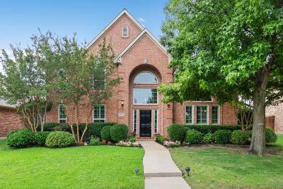 Plano Single Family Home Active Contingent: 3608 Banks Circle