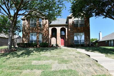 Frisco Single Family Home Active Contingent: 6651 Canterbury Drive