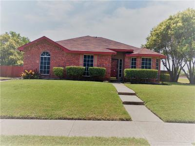 Cedar Hill Single Family Home Active Option Contract: 1101 Grounds Road