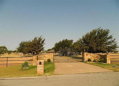 Haslet Single Family Home Active Option Contract: 220 Bayne Road