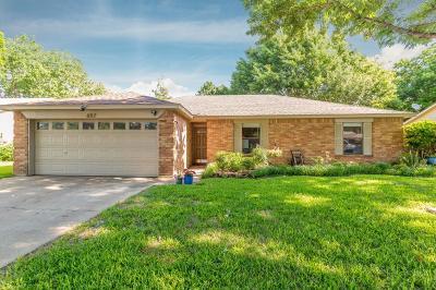 Keller Single Family Home Active Option Contract: 657 Clover Lane