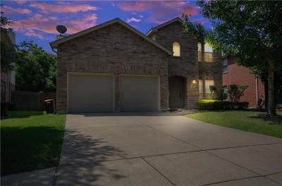 Mesquite Single Family Home Active Contingent: 3741 Turnstone Drive