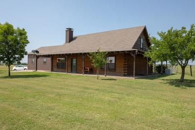 Ennis Single Family Home Active Contingent: 374 J T Ranch Road
