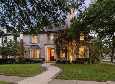 University Park Single Family Home For Sale: 3745 Stanford Avenue