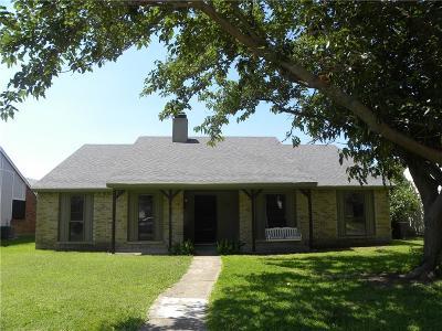 Mesquite Single Family Home For Sale: 1902 Uvalde Street