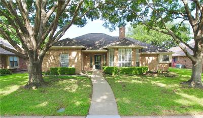 Richardson Single Family Home Active Option Contract: 2009 Brandeis Drive