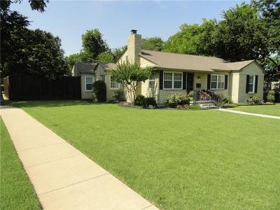 Fort Worth Single Family Home For Sale: 6336 Kenwick Avenue