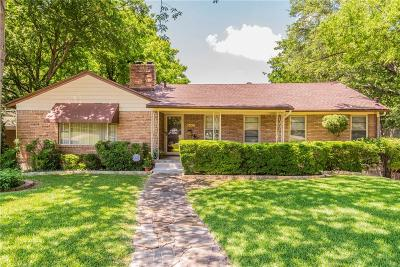 Fort Worth Single Family Home For Sale: 3808 Westcliff Road S