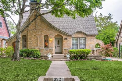 Single Family Home For Sale: 6521 Lakeshore Drive