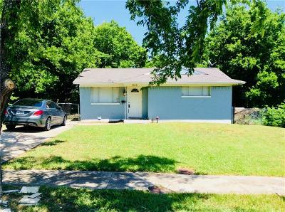 Mesquite Single Family Home For Sale: 828 Daffodil Drive