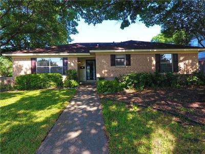 Farmers Branch Single Family Home Active Option Contract: 12264 Chapel View Drive