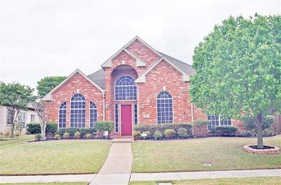 Coppell Single Family Home Active Option Contract: 600 Wellington Road