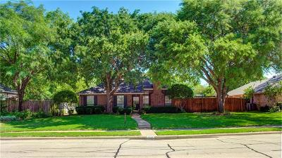 Coppell Single Family Home Active Option Contract: 404 Plantation Drive
