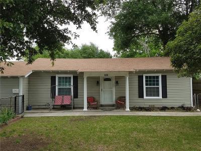 Terrell Single Family Home For Sale: 125 E McCoulskey Street