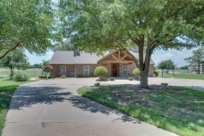 Haslet Single Family Home Active Option Contract: 222 Bayne Road